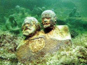 Аллея Вождей - Подводный музей на мысе Тарханкут